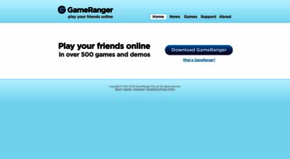 gameranger.com - gameranger - play your friends online