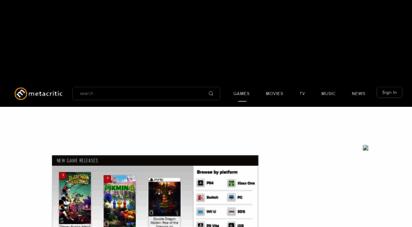 gamerankings.com - video game reviews, articles, trailers and more - metacritic