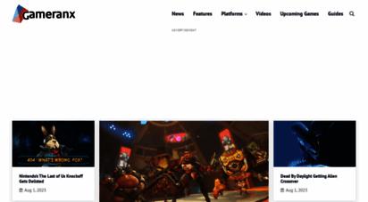 gameranx.com - gameranx - video game news, lists & guides