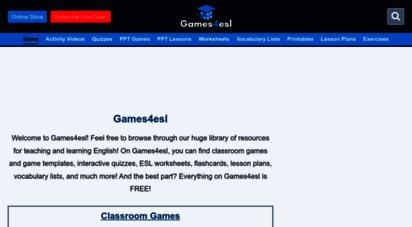 games4esl.com