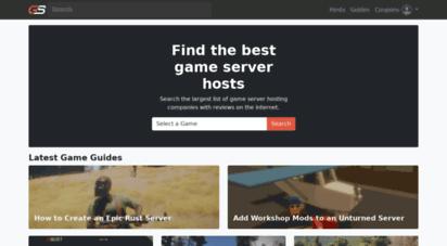 gameserver.io - game server guides & hosting - gameserver.io