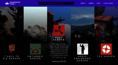 gameserverkings.com - gameservers and hosting services - gameserverkings