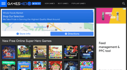 gameshero.com - gameshero.com - free online hero games. play free online super hero games every day. free no download games