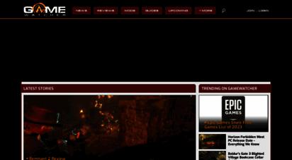 gamewatcher.com - pc game reviews, news, mods & videos  gamewatcher