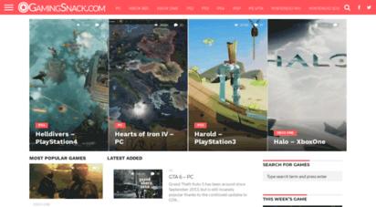 gamingsnack.com - games torrents - download free games torrents