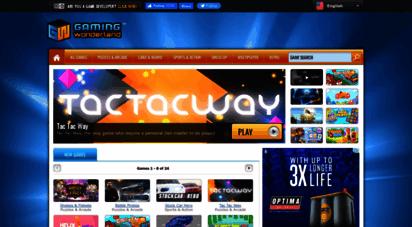 gamingwonderland.com - gaming wonderland