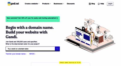 gandi.net - gandi.net: domain names, web hosting, ssl certificates