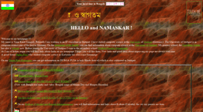 Welcome to Ganguly de - Homepage of TIMIR KANTI GANGULY