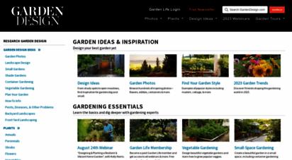 gardendesign.com - garden & landscape design, ideas and tips  garden design
