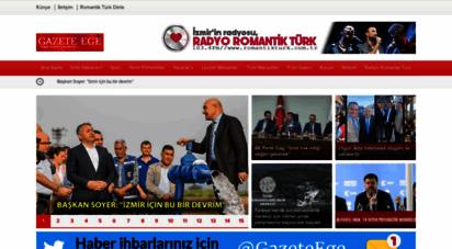 gazeteege.com.tr - gazete ege � özgür düşüncenin adresi, izmir haberleri, ege haberleri
