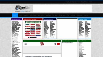 similar web sites like gazetekeyfi.com.tr