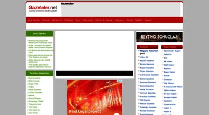 gazeteler.net - gazeteler net - gazete manşetleri