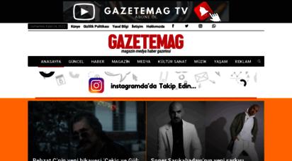 gazetemag.com - gazetemag - magazin haber gazetesi