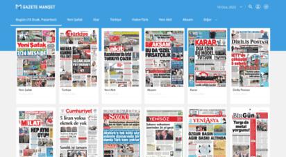 gazetemanset.com - gazeteler - gazete manşetleri - gazetemanset.com