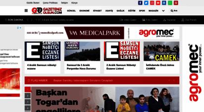 gazetenizolsun.com - samsun haber  samsun haberleri  gazeteniz olsun