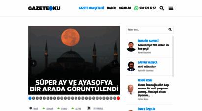 gazeteoku.com - gazeteler, gazete manşetleri - gazete oku
