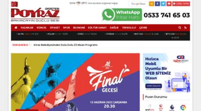 gazetepoyraz.com - poyraz gazetesi izmir yerel haber sitesi