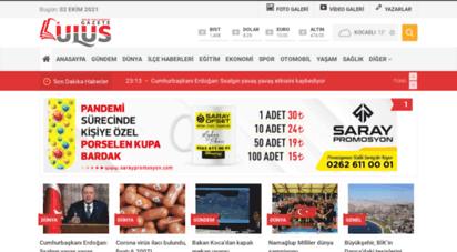 gazeteulus.com - gazete ulus  günlük siyasi bağımsız gazete  bu kentte bu gazete okunur!