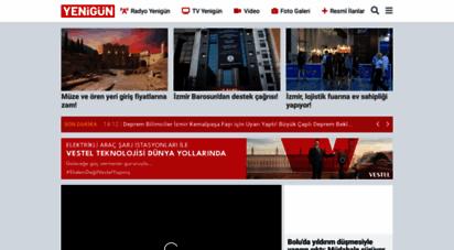 gazeteyenigun.com.tr - ege´nin güçlü internet gazetesi - gazete yenigün