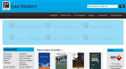 gazikitabevi.com.tr - gazi kitabevi