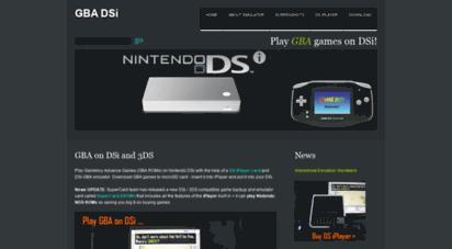 Welcome to Gbadsi com - GBA DSi » Play GameBoy Advance on