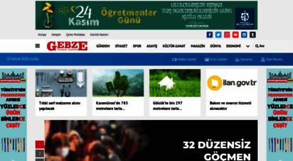 gebzeyenigun.com - gebze yenigün gazetesi internet baskisi