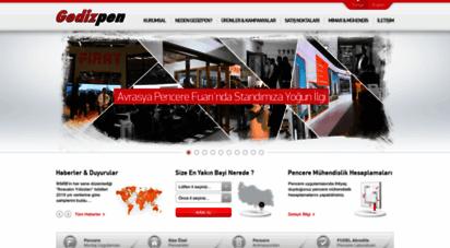 gedizpen.com.tr - pvc profil kapı pencere  gedizpen