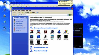 geekprank.com - geek prank 😈 windows xp and other online pranks