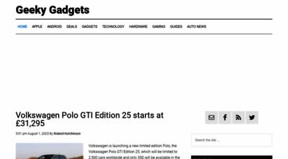 geeky-gadgets.com - geeky gadgets - gadgets and technology news