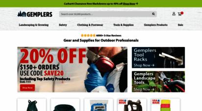 gemplers.com - gempler´s  supplier for landscaping, agricultural & more