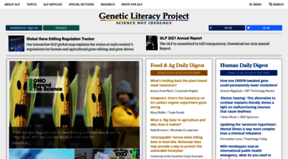 geneticliteracyproject.org - genetic literacy project  science trumps ideology