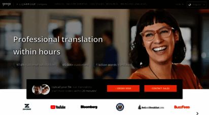 gengo.com - professional translation services - gengo