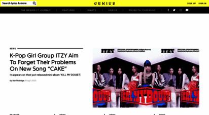 genius.com - genius  song lyrics & knowledge