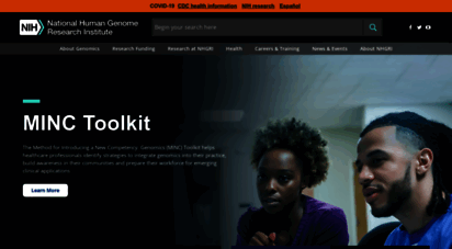 genome.gov - national human genome research institute home  nhgri
