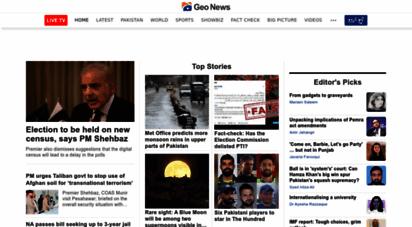 geo.tv - geo.tv: latest news breaking pakistan, world, live videos