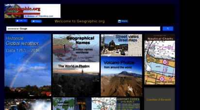 geographic.org - geographic.org home page - geography, climate, countries, maps, flags, population