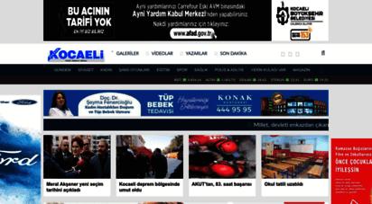 gercekkocaeli.com.tr - gerçek kocaeli - ana sayfa