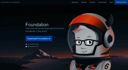 get.foundation - the most advanced responsive front-end framework in the world.  foundation
