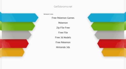 get3dsroms.net - home - 3ds game roms