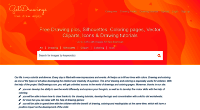 getdrawings.com - live, draw, and enjoy on getdrawings.com. get free drawings, vector graphics and how to draw tutorials