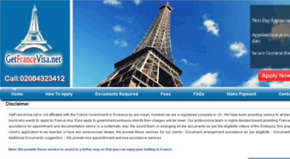 Welcome to Getfrancevisa net - France Visa, France Visa