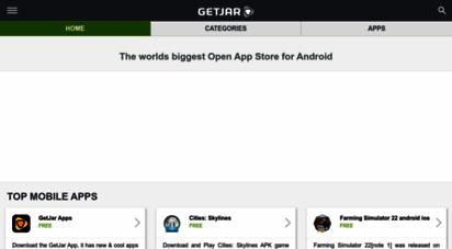 getjar.mobi - getjar - download free apps, games and themes apk