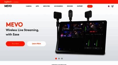 getmevo.com - mevo by livestream - livestream mevo - the live event video camera - mevo store
