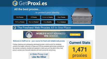getproxi.es - get proxi.es :: cgi and web proxy list