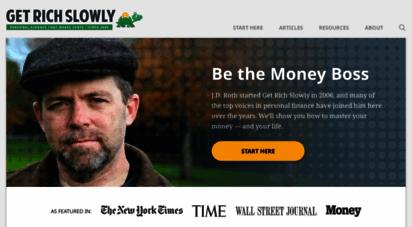 similar web sites like getrichslowly.org