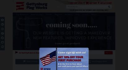 gettysburgflag.com - american flags, custom flags & banners, flagpoles & flag sets, hardware & more - gettysburg flag works