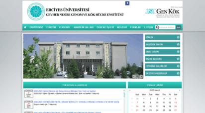 gevhernesibe.erciyes.edu.tr -