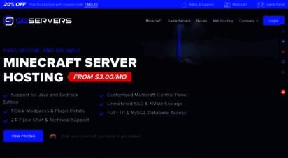 ggservers.com - ggservers  minecraft server hosting