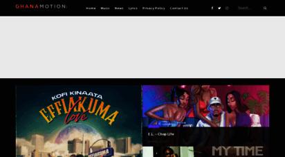 ghanamotion.com - ghanamotion.com - ghana music, africa music & multimedia