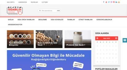 gidabilgi.com - gıda bilgi portalı